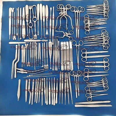 Basic Neurosurgery Set Of 96 Pcs Neurosurgical Orthopedic Instruments By Skt
