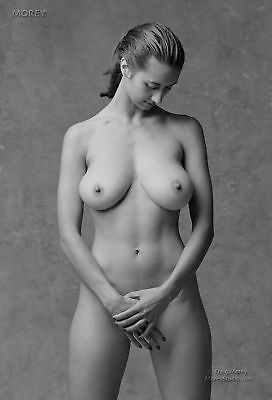 B&W Fine Art Nude Model, Natalie 81107.07, signed 8.5x11 photo by Craig Morey