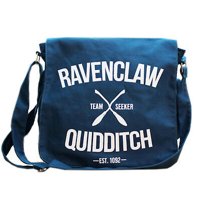 Harry Potter Ravenclaw Cross Bag School Messenger Travel Sport Cotton Quidditch