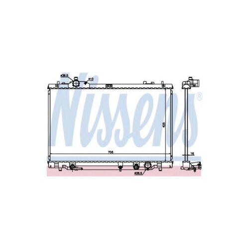 Genuine Nissens Engine Cooling Radiator - 646819