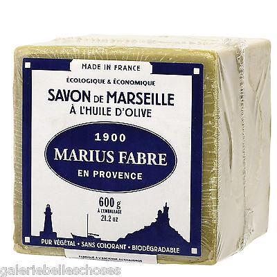 600g Marius Fabre Marseiller Kernseife Savon de Marseille Olivenöl auch z Filzen