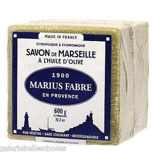 600 g Le Cube Marseiller Seife Savon de Marseille Marius Fabre Olivenöl