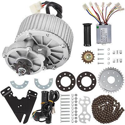 450w 36v Dc Motor Gear Reduction Motor Kit 6pcs Controller E-bike Throttle Grip