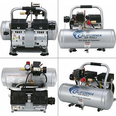 2.0 gal. 1.0 hp ultra quiet and oil-free aluminum tank air compressor | tools