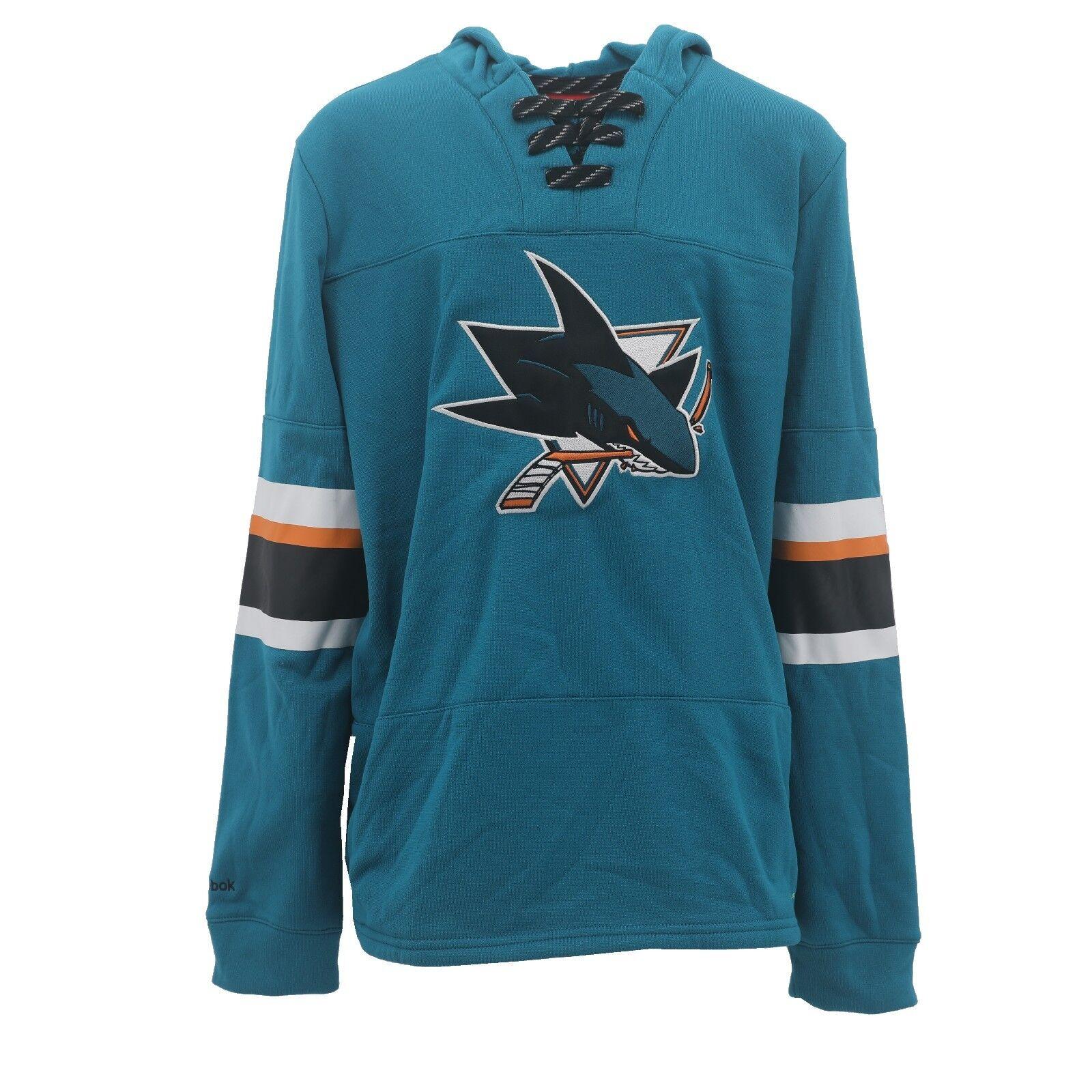 b40e13367 Reebok NHL San Jose Sharks Play Warm Youth Size Sweatshirt Official New W  Tags