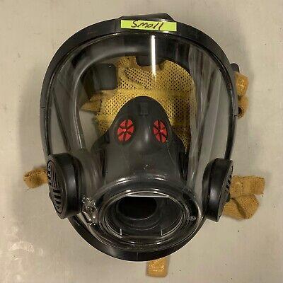 Scott Av3000 Ht Firefighter Scba Mask 5pt Kevlarheadnet Sureseal Size Small