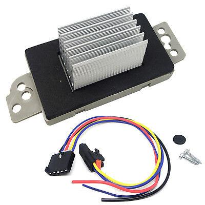 Blower Motor Resistor Module W/ Plug For GMC Sierra 1500HD 2500HD 3500 2006-2007