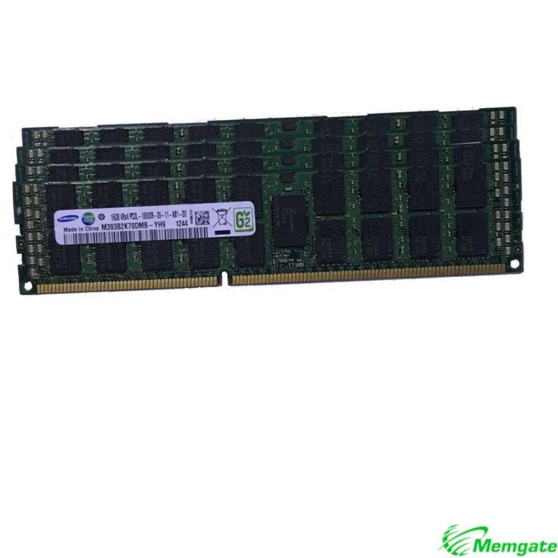 96GB (6x16GB) PC3-10600R DDR3 4Rx4 ECC Reg RDIMM Server Memory RAM for Dell M610