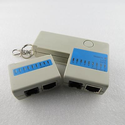 Netzwerktester LAN ISDN Kabel Adern Patch tester RJ45 RJ11