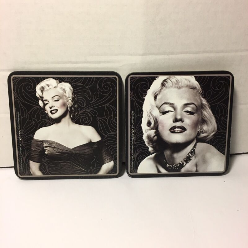 Marylin Monroe Coasters - Lot Of 2