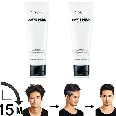 E.glam] Down Perm for Men Speedy Easy Magic Straight Perm Home 120ml  2ea