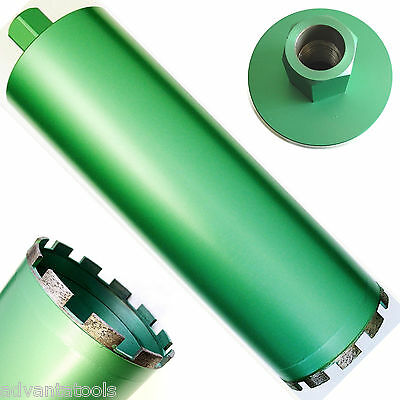 5 Wet Diamond Core Drill Bit For Concrete - Premium Green Series