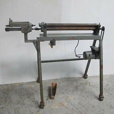 30 Pexto Powered Slip Roller Bending Roll Sheet Metal Machine