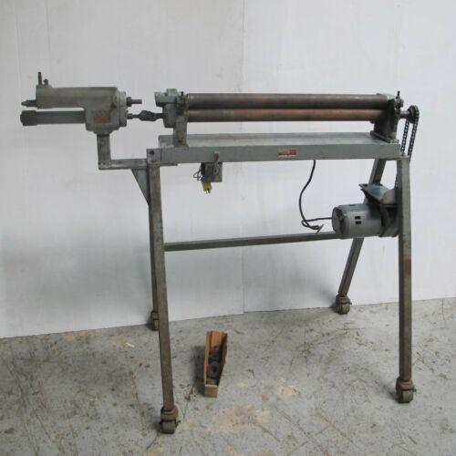 "30"" Pexto Powered Slip Roller Bending Roll Sheet metal Machine"