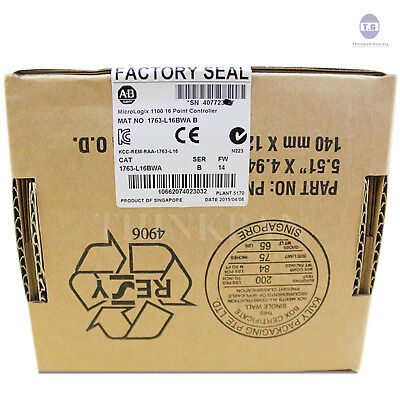Allen Bradley Ab Micrologix 1100 1763-l16bwa Plc New In Box