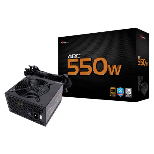 Rosewill Gaming Power Supply, Arc Series 550 Watt  80 PLUS B