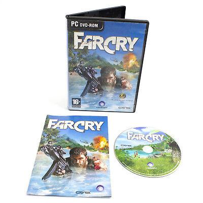 Far Cry for PC DVD-ROM by Ubisoft, Inc, 2004, VGC, CIB segunda mano  Embacar hacia Spain
