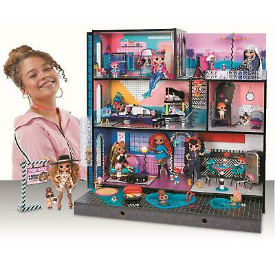 Wood Doll House with 85+ Surprises L.O.L. Surprise! O.M.G. House Fully Furnished
