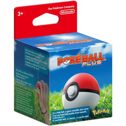 Poké Ball Plus (Nintendo Switch, 2018)