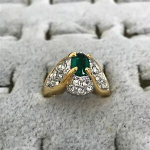 Costume (emerald) Ring - size 5