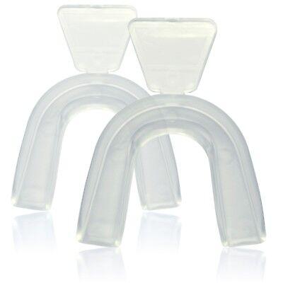 2x Bleaching Schiene / Zahnschiene SoftMundschiene für Zahn Gel / Zahnaufhellung