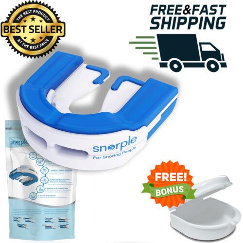SNORPLE Anti Snoring Hybrid Oral Appliance Mouthpiece Stop Snoring like SnoreRX