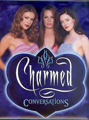 CHARMED CONVERSATIONS 2005 INKWORKS TRADING CARD ALBUM BINDER