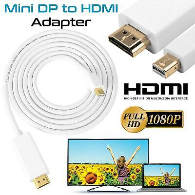 Mini DP DisplayPort to HDMI Lead Cable for Apple MacBook Air Pro Mini iMac Mac