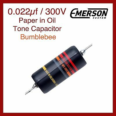 Emerson Custom 0.022µf / 300V Paper in Oil Tone Capacitor - Bumblebee