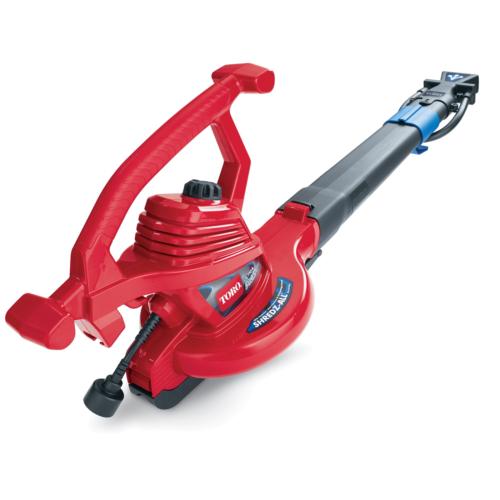 Toro 51621 250-Mph Blower, Vacuum, Leaf Shredder Corded