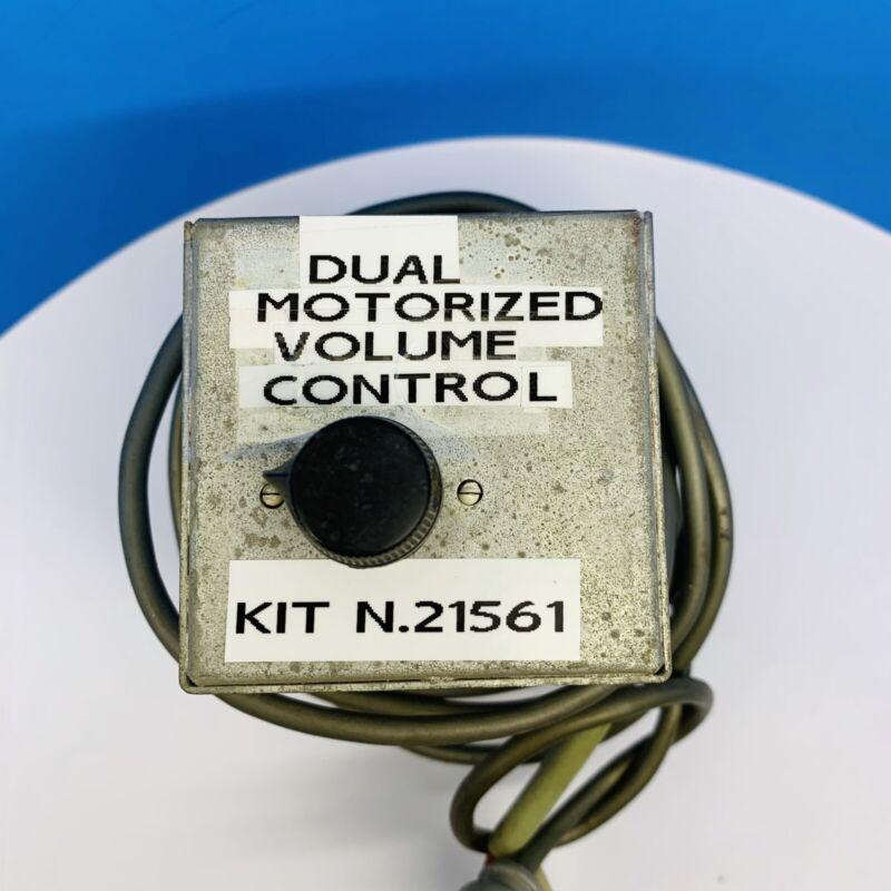 ROCKOLA 45 RPM JUKEBOX DUAL MOTORIZED VOLUME CONTROL KIT #2156-1