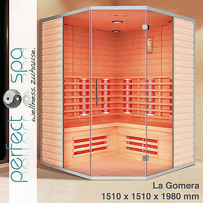 "Infrarotkabine ""La Gomera"" Infrarot  Sauna Wärmekabine Infrarotsauna"