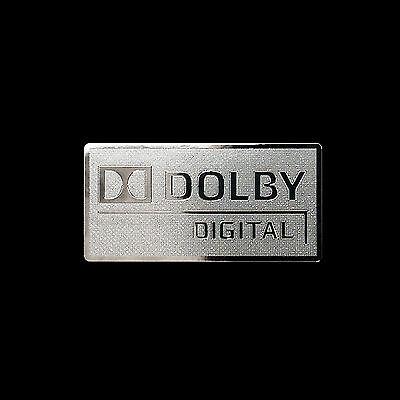 Dolby digital logo Metal Decal Sticker Case Computer PC Laptop Badge