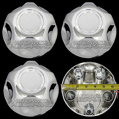 Set of 4 Ford 5 Lug Chrome Center Cap Wheel Cover Rim Hub Caps Small Middle Hubs Ford Truck Center Caps