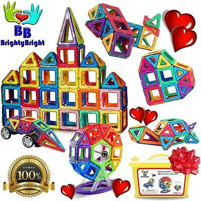 Toys For Boys Girls Children Magnet Blocks Set for 3 4 5 6 7 8 9 Years Old Age
