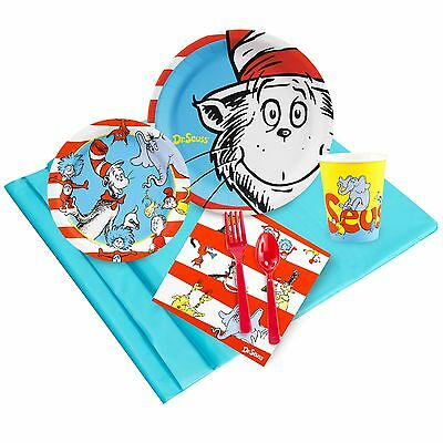 Dr. Suess - Birthday Party Supply Kit for 8 w/ Table Ware](Dr Suess Birthday Party)