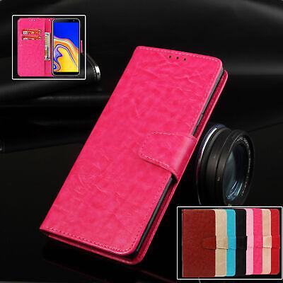 For Samsung Galaxy J4 J6 Plus J7 J3 J8 J6 2018 J5 2016 Case Wallet Leather Cover