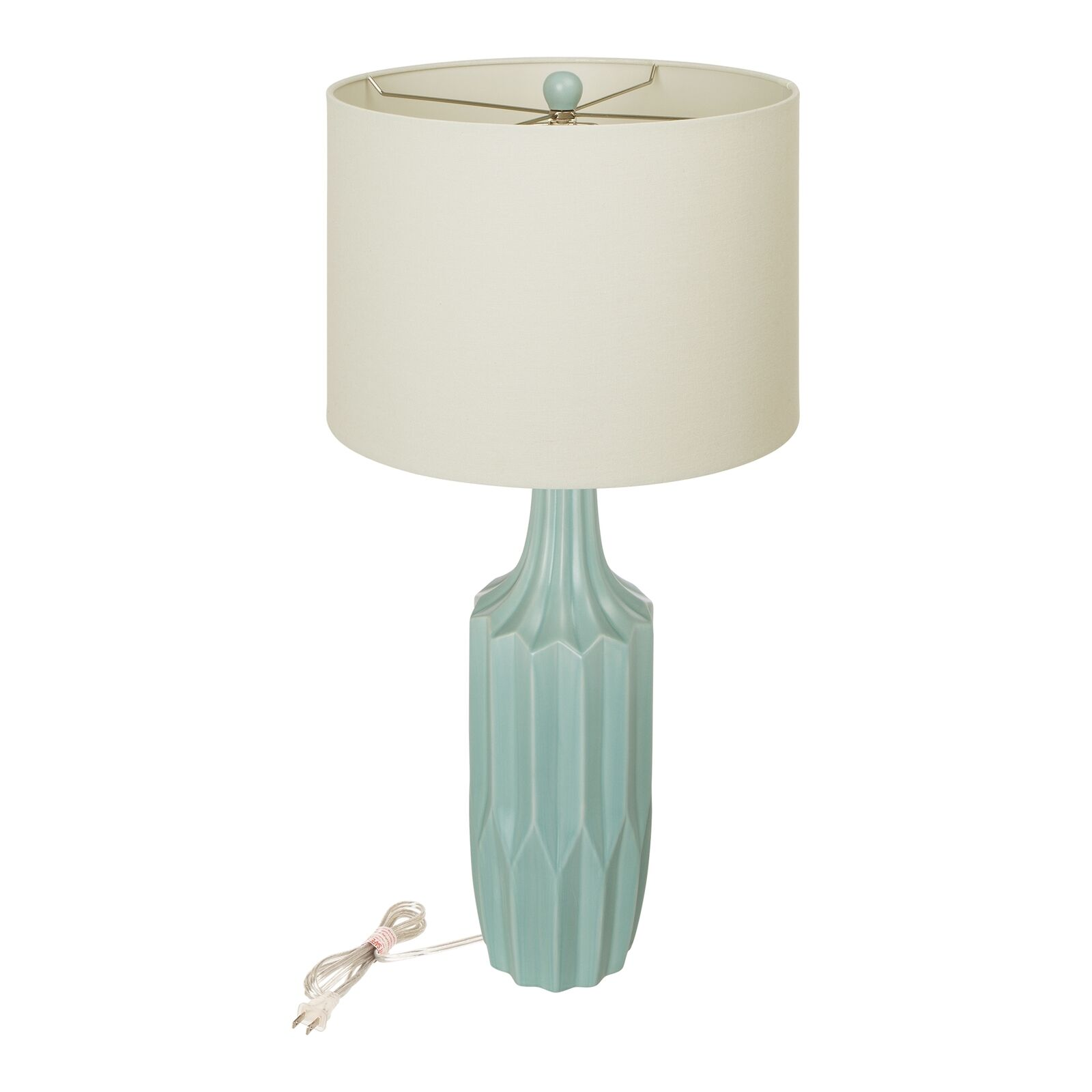 Details about Glitzhome Modern Accent Desk Lighting Ceramic Table Lamp  Bedside Bedroom Decor