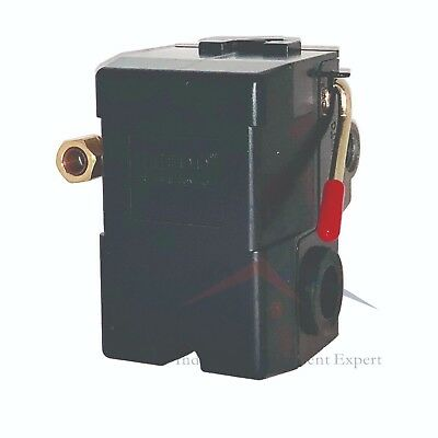 Air Compressor Pressure Switch For Black Max Jenny Sears 95-125 Single Port
