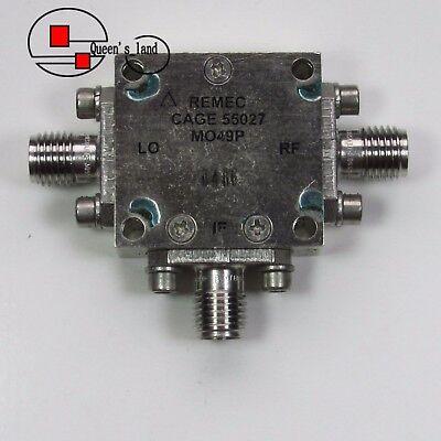 1 Remec Mo49p 4-8ghz Sma Rf Microwave Coaxial Double Balanced Mixer
