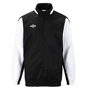 Umbro-Football-Training-Shower-Jacket-Mens-Top-Warmup-Jkt-New