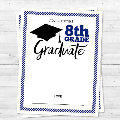 8th Grade or High School Graduation Class of 2019 Promotion Party Advice Cards](High School Graduation Parties)