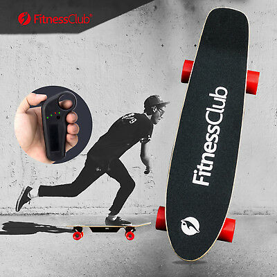Electric Skateboard Longboard Scooter 4 Wheels With Wireless Remote Control