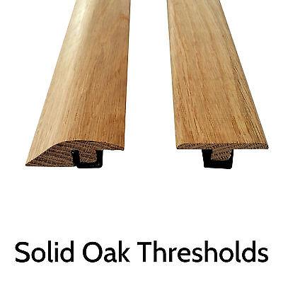 Solid Oak Threshold Door Bar Trims Strip For Wood Flooring
