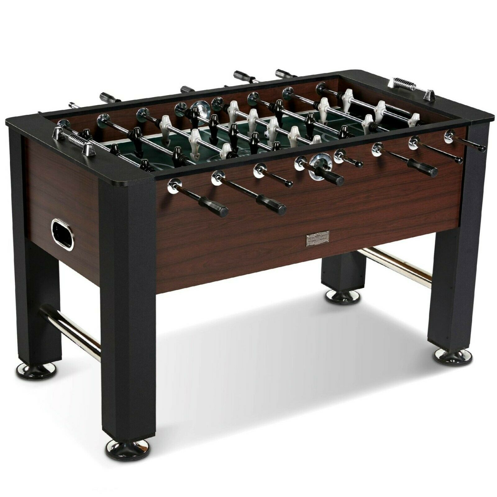 Foosball Soccer Table with 2 Balls Game Room Play Tables Leg