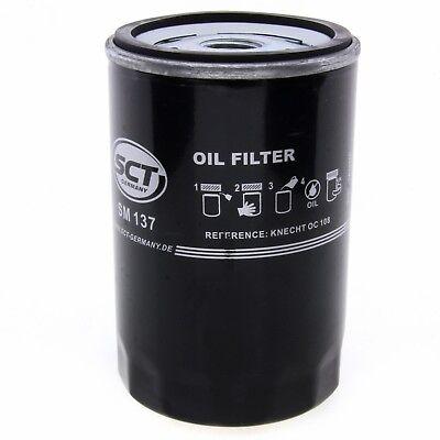 SCT LFILTER SM137 FILTER MOTORFILTER SERVICEFILTER ANSCHRAUBFILTER DICHTUNG