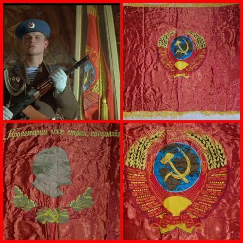 VNT Russian  Soviet  flag banner USSR  Propaganda USSR Coat of Arms ARMY VDV