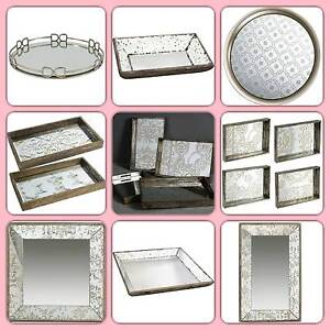 New Tray, Mirrored, Faux Leather, Wood, Clear Acrylic from $29.50 Eagle Farm Brisbane North East Preview
