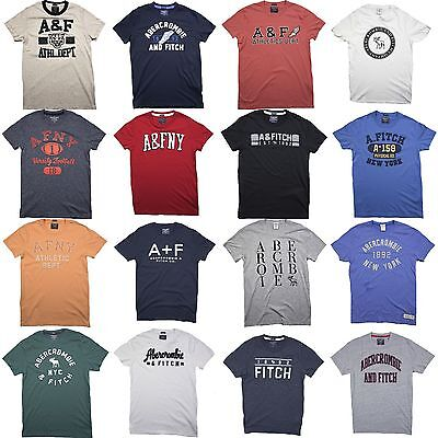 Nwt Abercrombie   Fitch By Hollister Mens Tee T Shirt Size S M L Xl Xxl