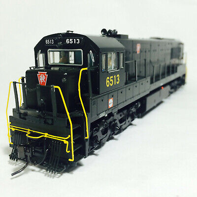 Korea Brass HO 1/87 Scale GE U25C U252020 PRR #6513 DC only Detailed Model Train